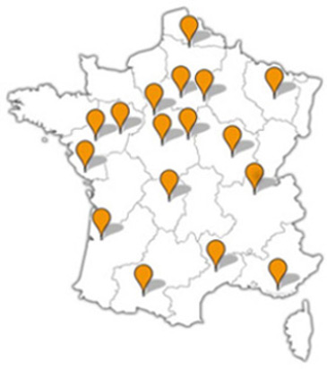 Agences de courtiers immobilier en France